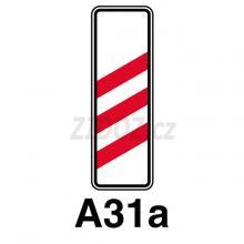 A31a - Návěstní deska (240m)