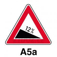 A05a - Nebezpečné klesání