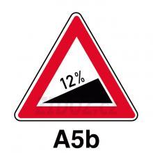 A05b - Nebezpečné stoupání