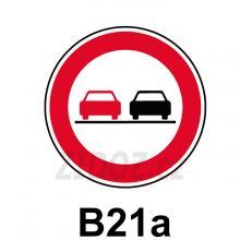 B21a - Zákaz předjíždění