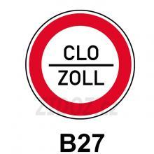 B27 - Povinnost zastavit vozidlo