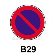 B29 - Zákaz stání