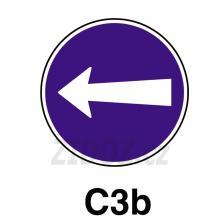 C03b - Přikázaný směr jízdy zde vlevo