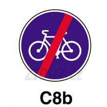 C08b - Konec stezky pro cyklisty