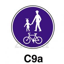 C09a - Stezka pro chodce a cyklisty