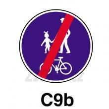 C09b - Konec stezky pro chodce a cyklisty
