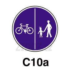 C10a - Stezka pro chodce a cyklisty