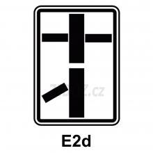 E02d - Tvar dvou křižovatek