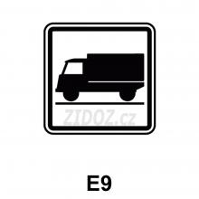 E09 - Druh vozidla