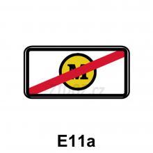 E11a - Bez mýtného