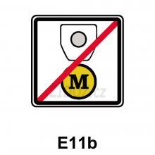 E11b - Bez časového poplatku a mýtného