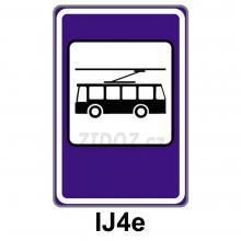 IJ04e - Zastávka trolejbusu