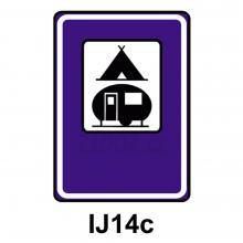 IJ14c - Tábořiště pro stany a pro obytné přívěsy