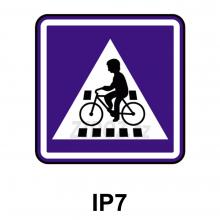 IP07 - Přejezd pro cyklisty