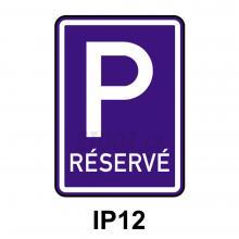 IP12 - Vyhrazené parkoviště