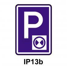 IP13b - Parkoviště s parkovacím kotoučem