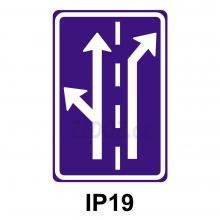 IP19 - Řadící pruhy