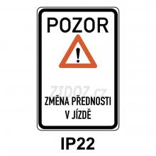 IP22 - Změna místní úpravy