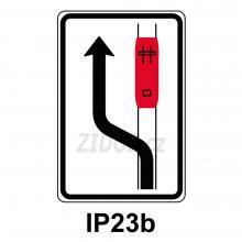 IP23b - Ob. tram. (jízda podél tr. vlevo)