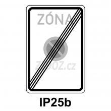 IP25b - Konec zóny s dopravním omezením