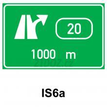 IS06a - Návěst před křižovatkou