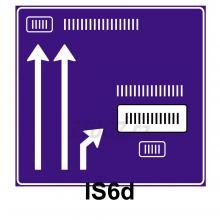 IS06d - Návěst před křižovatkou