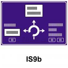 IS09b - Návěst před křižovatkou