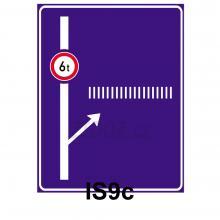 IS09c - Návěst před křižovatkou