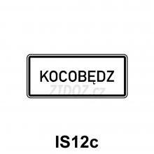 IS12c - Obec v jazyce národnostní menšiny