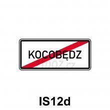 IS12d - Konec obce v jazyce národnostní menšiny