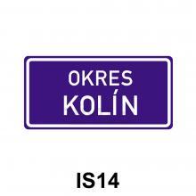 IS14 - Hranice územního celku