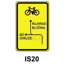 IS20 - Návěst před křižovatkou pro cyklisty