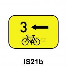 IS21b - Směrová tabulka pro cyklisty