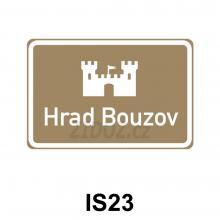 IS23 - Kulturní nebo turistický cíl - návěst