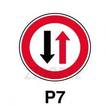 P07 - Přednost protijedoucích vozidel