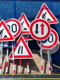 Dočasné dopravní značky 01