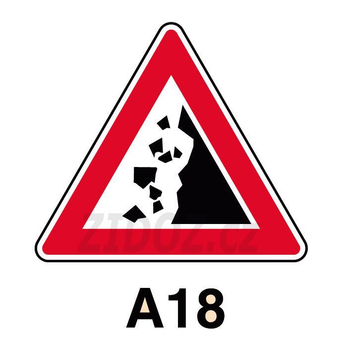 A18 - Padající kamení