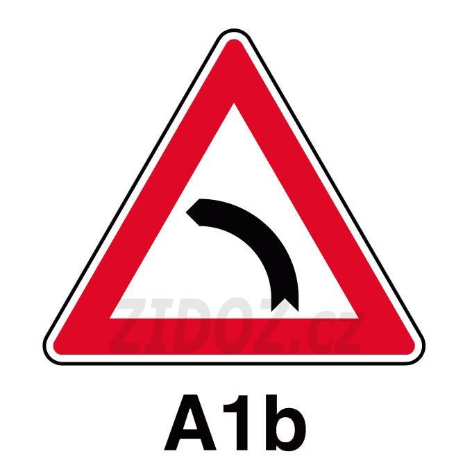A01b - Zatáčka vlevo