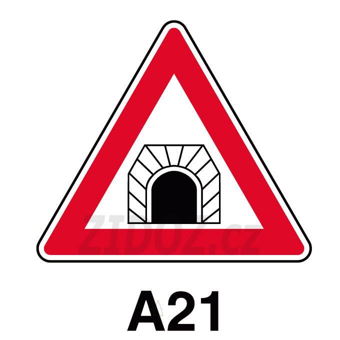 A21 - Pozor, tunel
