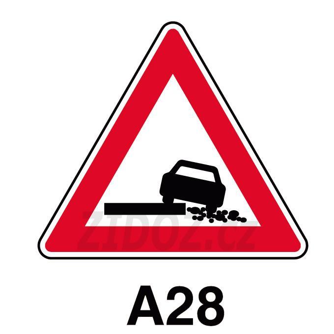 A28 - Nezpevněná krajnice