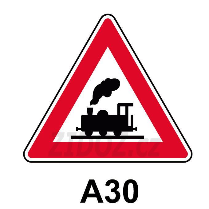 A30 - Železniční přejezd bez závor