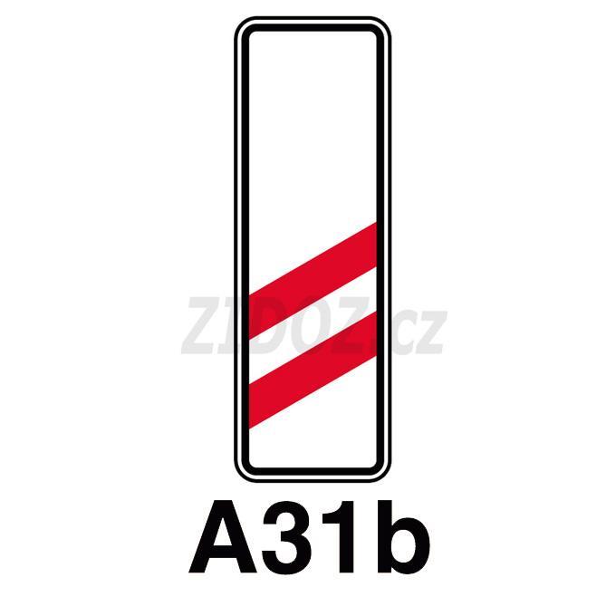 A31b - Návěstní deska(160m)