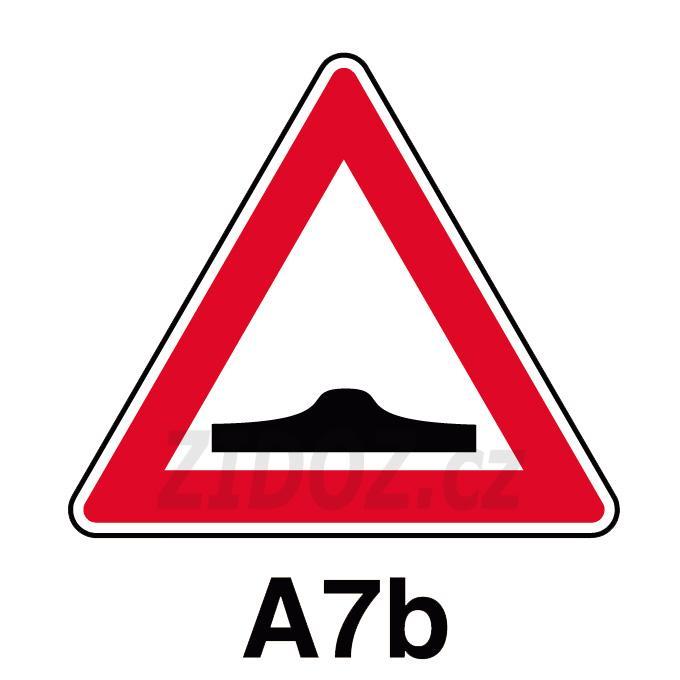 A07b - Pozor, zpomalovací práh