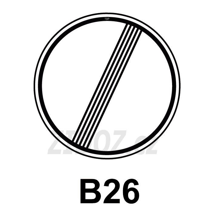 B26 - Konec všech zákazů