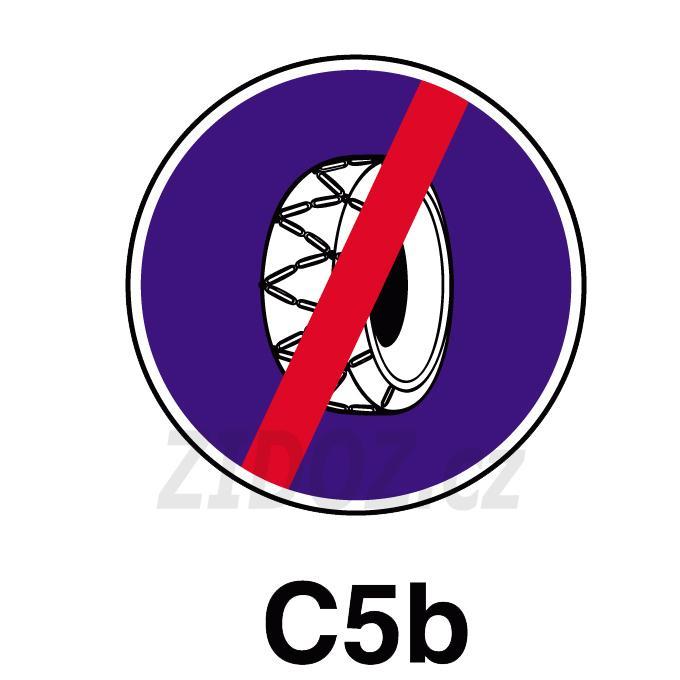 C05b - Sněhové řetězy - konec