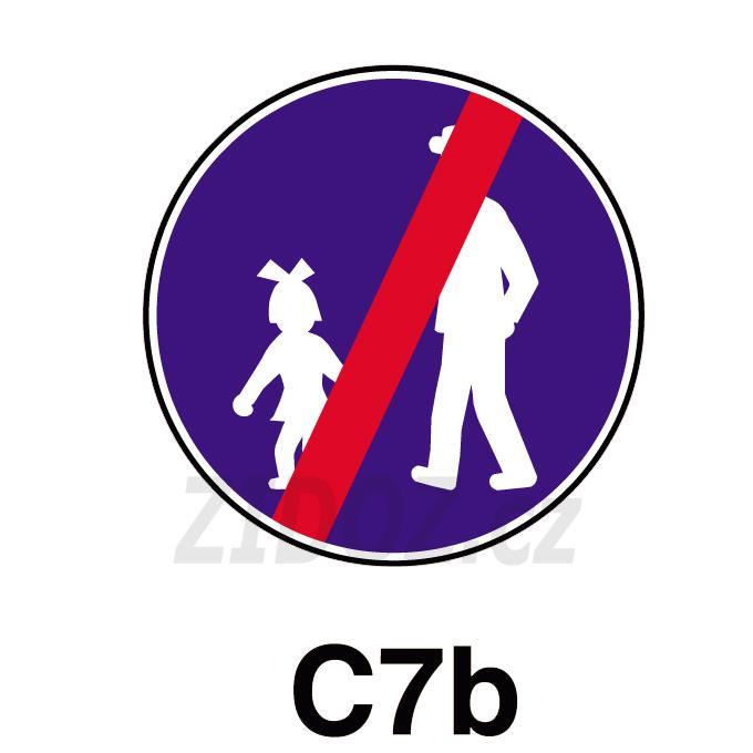 C07b - Konec stezky pro chodce
