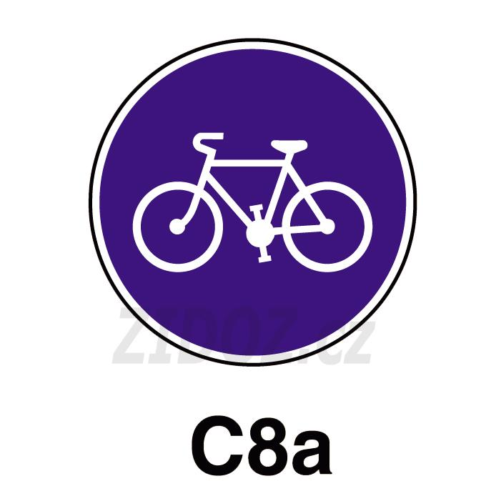 C08a - Stezka pro cyklisty