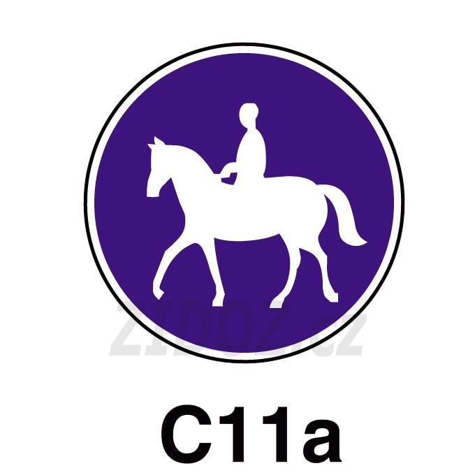 C11a - Stezka pro jezdce na zvířeti