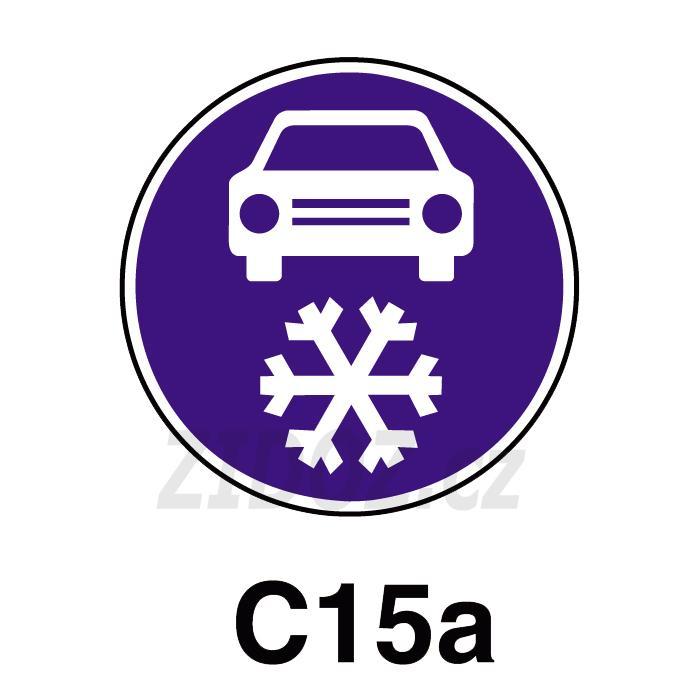 C15a - Zimní výbava