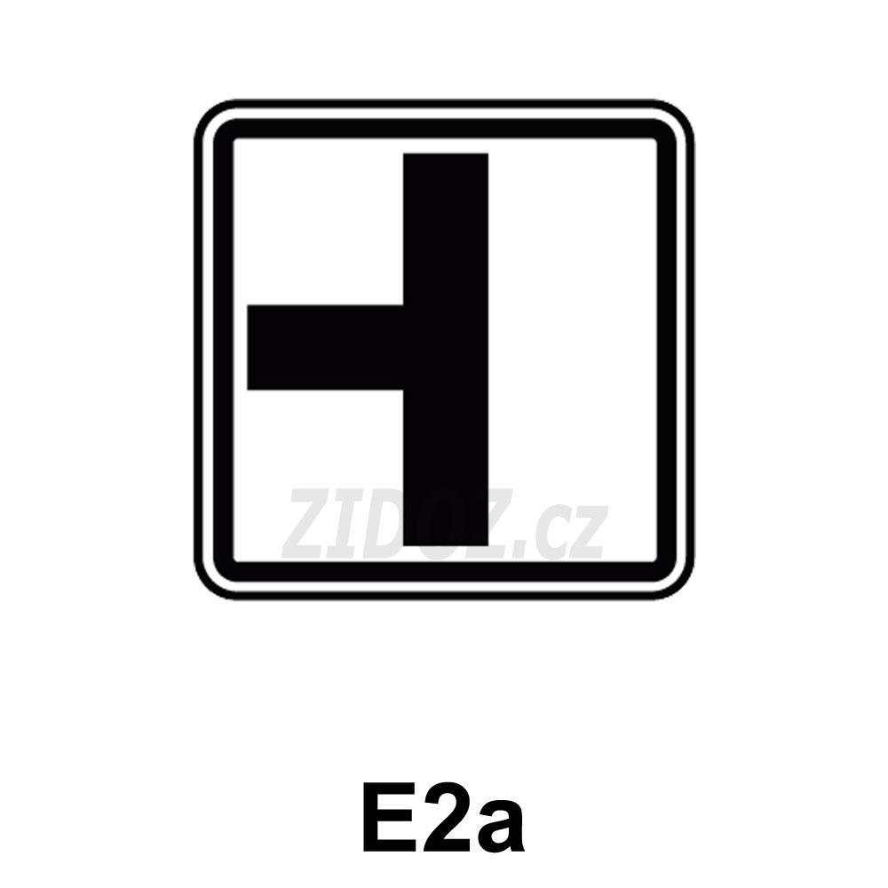 E02a - Tvar křižovatky